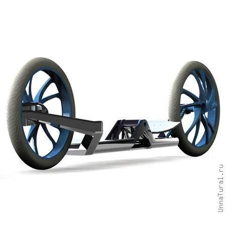 Pedalboard1 Новинки для любителей активного отдыха   велоскейт и велоколесница
