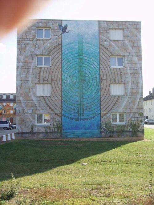 apartmentblockspainting Живые картины на улицах города