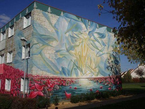 apartmentblockspaintingi Живые картины на улицах города