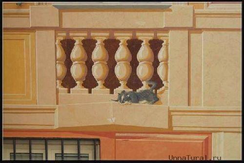 trompeloeilwallpicturesen Живые картины на улицах города
