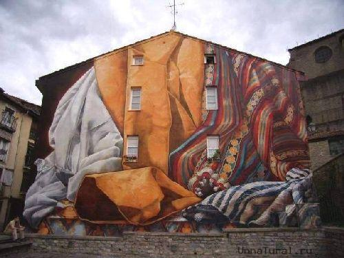 trompeloeilwallpictureshg Живые картины на улицах города