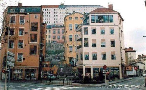 trompeloeilwallpicturesjd Живые картины на улицах города