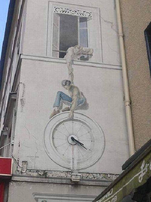 trompeloeilwallpicturesnl Живые картины на улицах города