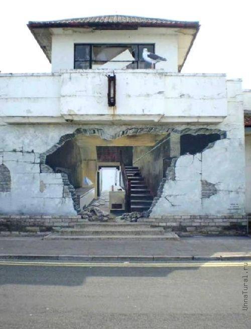 trompeloeilwallpictureso Живые картины на улицах города