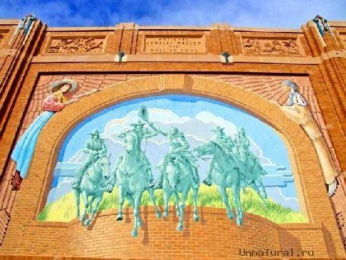 trompeloeilwallpicturesri Живые картины на улицах города
