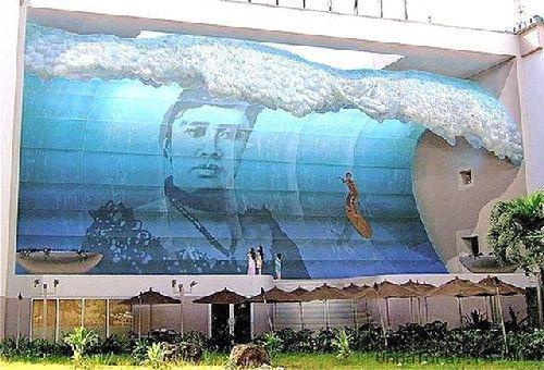 trompeloeilwallpicturesva Живые картины на улицах города