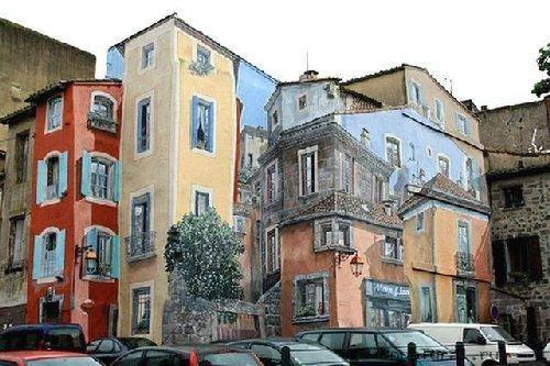 trompeloeilwallpicturesw Живые картины на улицах города