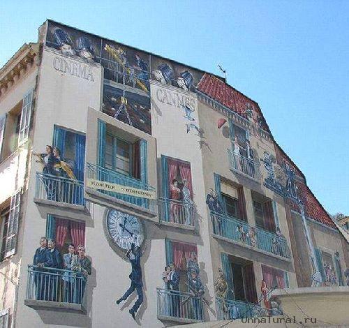 trompeloeilwallpicturesx Живые картины на улицах города