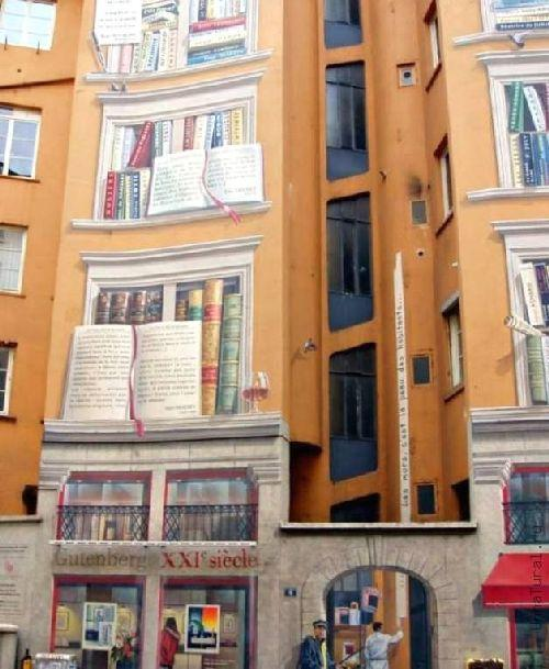 trompeloeilwallpicturesyp Живые картины на улицах города
