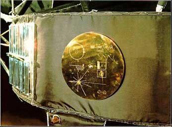 Voyager disc1 Инопланетный сигнал с Вояджер 2