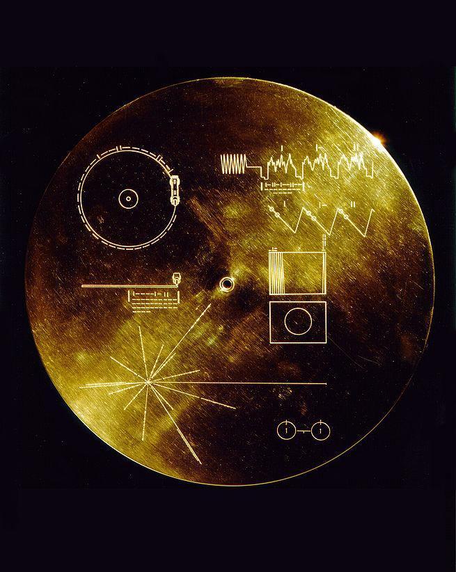 Voyager disc2 Инопланетный сигнал с Вояджер 2