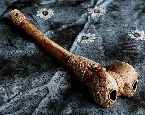 ganlin2 Буддийские изделия из человеческих костей