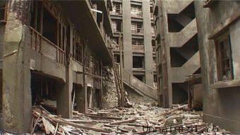 Hashima2 Мертвый город на острове Хашима