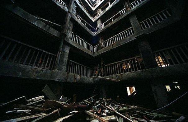 hashima11 Мертвый город на острове Хашима
