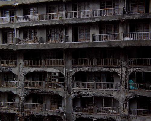 hashima15 Мертвый город на острове Хашима