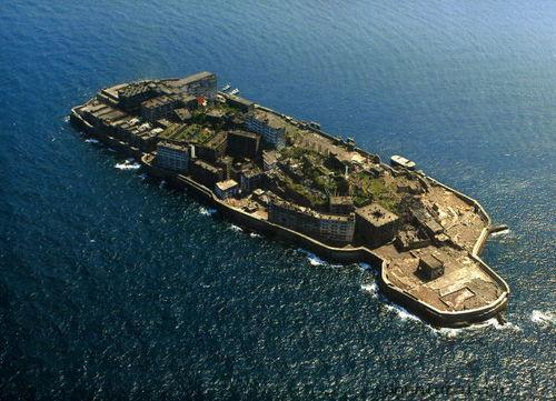 hashima17 Мертвый город на острове Хашима