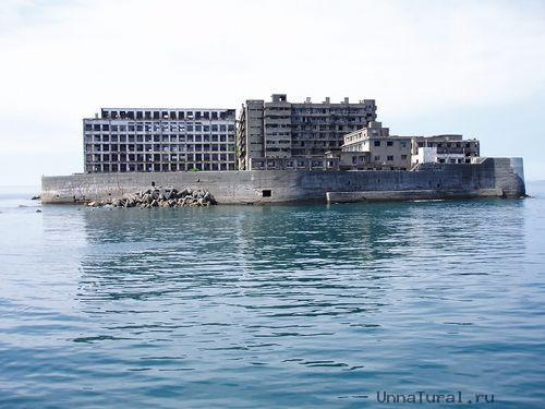 hashima18 Мертвый город на острове Хашима