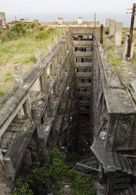 hashima25 Мертвый город на острове Хашима
