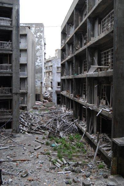 hashima3 Мертвый город на острове Хашима