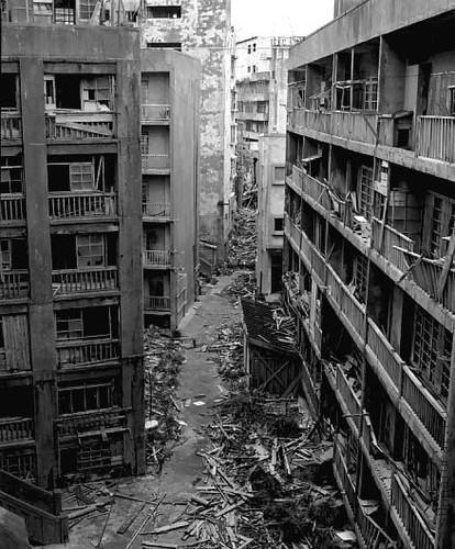 hashima4 Мертвый город на острове Хашима