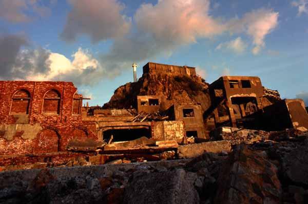 hashima7 Мертвый город на острове Хашима