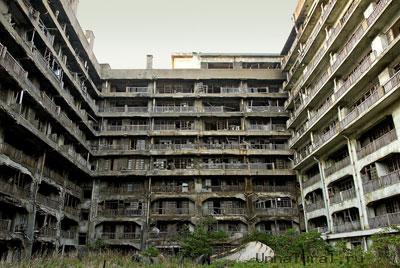 hashima8 Мертвый город на острове Хашима