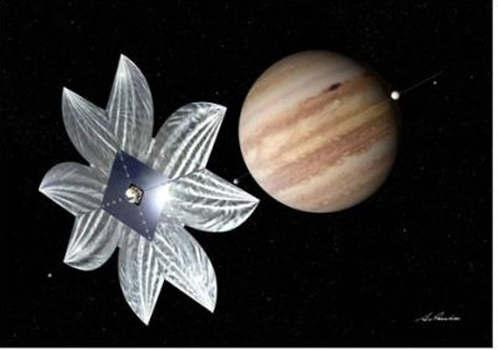 3 Японский космический парусник