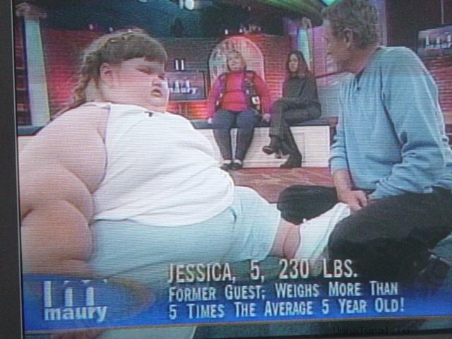 jessica leonard4 Самый толстый ребенок в мире похудел на 140кг