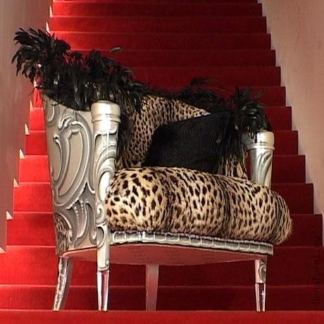 mebel majkla dzheksona leopard Мебель Майкла Джексона