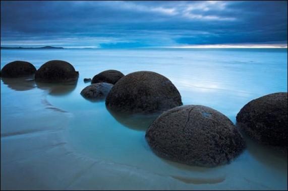 Moeraki Boulders 105 571x380 Валуны Моераки