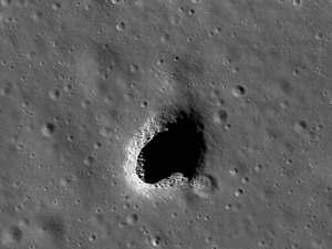 1 Необычное отверстие на темной стороне Луны