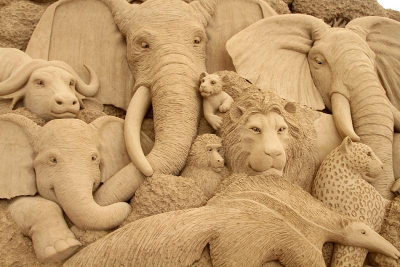 8 Музей песчаных скульптур Тоттори