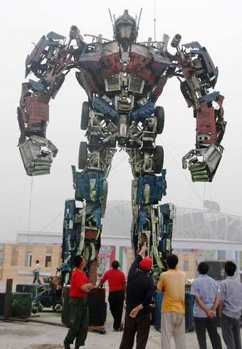 optimusprime В Китае собрали гигантского Оптимуса Прайма