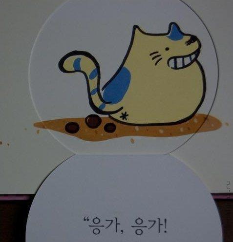 pisika5 Маленькая корейская девочка Писяка познает мир через какашки.