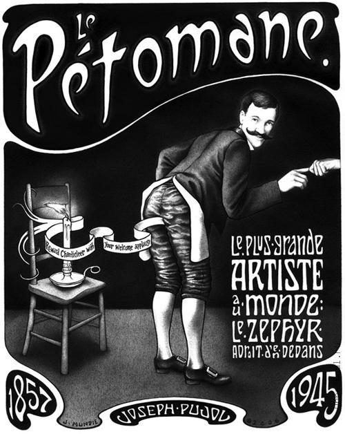 p1 Жозеф Пужоль, Petomane. Человек который пукал.