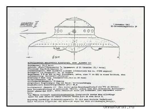 13 Летающие тарелки Третьего рейха