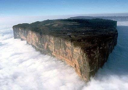 mount roraima1 Затерянный мир, горы Рораймы