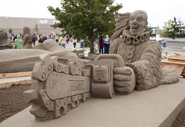 1 Чемпионат мира по созданию скульптур из песка