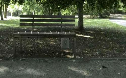 1 Самые необычные скамейки