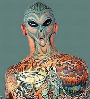 back head tattoos 09 Самые необычные татуировки