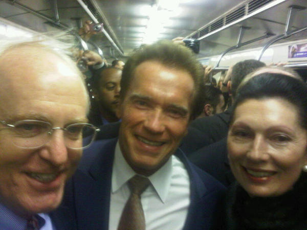 term metro Арнольд Шварценеггер посетил Москву
