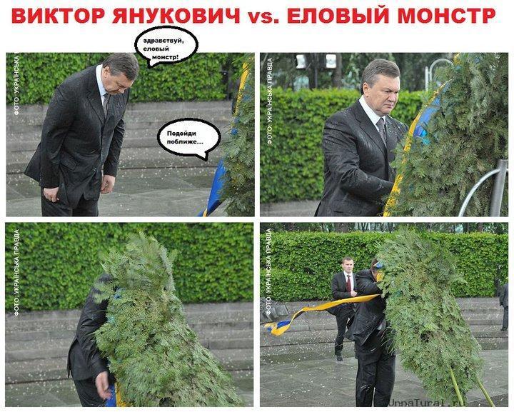 jaba1 Упавший на Януковича венок продан на интернет аукционе