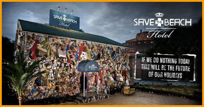 corona save 1 6 Встречайте, Прибрежный отель Корона Сейв   первый отель из мусора
