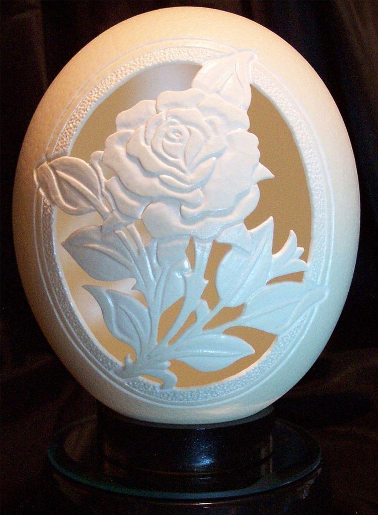 gary lemaster 5 Гари ЛеМастэр и его невероятные скульптуры из яичной скорлупы