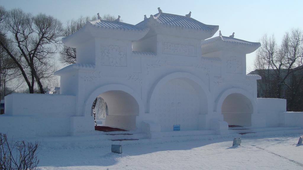 База из снега своими руками