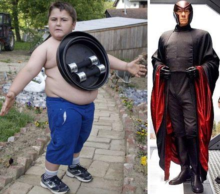 ivan stoiljkovic magneto boy 5 Ребенок магнит