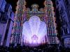 thumbs light cathedral  1 Ярчайшим украшением Гентского фестиваля в этом году стал собор, горящий 55 тысячами светодиодных ламп