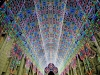 thumbs light cathedral  2 Ярчайшим украшением Гентского фестиваля в этом году стал собор, горящий 55 тысячами светодиодных ламп