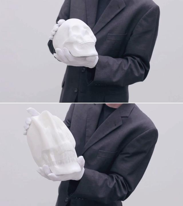 p g 1 Гибкие бумажные скульптуры Ли Хунбо