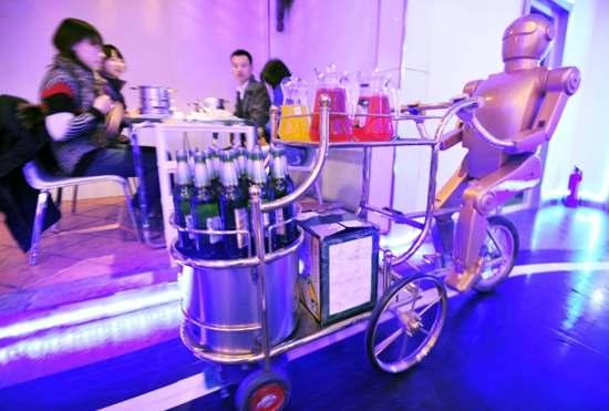 image Первый в мире Роботизированный Ресторан